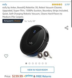 Eufy Robot Vacuum for Sale in Aurora,  CO