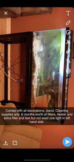 55gallon fish tank for Sale in Oklahoma City,  OK