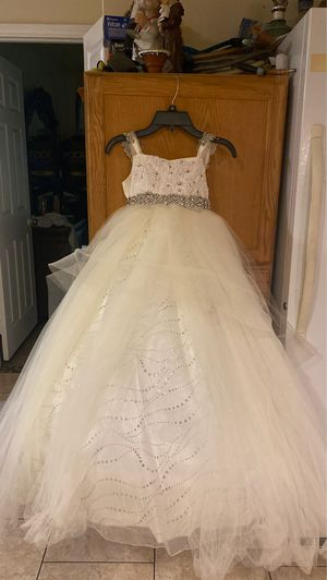 Flower girl kids party dress for Sale in Harbison Canyon, CA