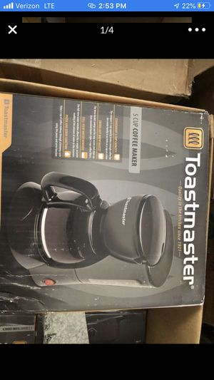 TOASTMASTER SMALL /DORM ROOM APPLIANCES by the item or entire box for $50 for Sale in Las Vegas, NV