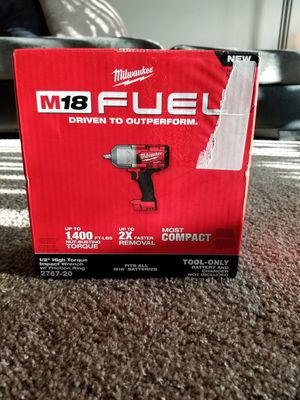 """Milwaukee M18 Fuel Brushless 1/2"""" HIGH TORQUE Impact Wrench NEW for Sale in Saint Paul, MN"""