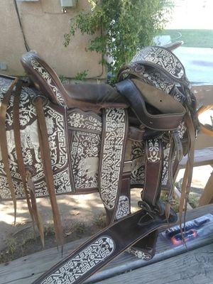 Mexican saddle or better offer for Sale in Corcoran, CA