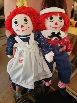 Antique Raggedy Anne and Andy. for Sale in Harrisonburg, VA