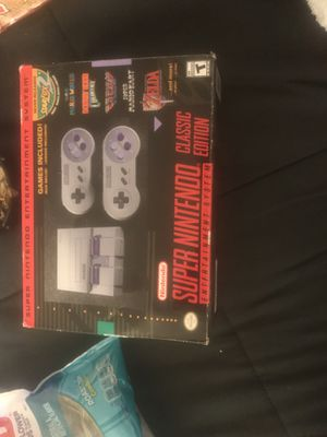 Used once, Super Nintendo entertainment system for Sale in Shepherdstown, WV