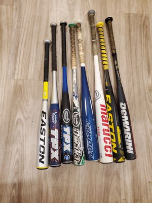 Baseball Bats for Sale in Tulare, CA