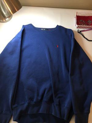 Polo Ralph Lauren large blue sweater for Sale in Phoenix, AZ