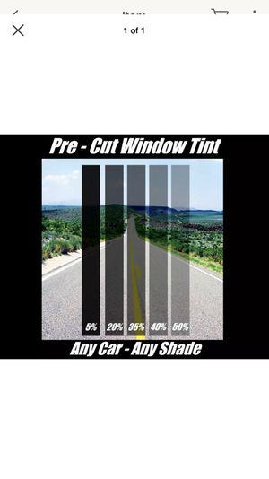 Pre cut window tint for Sale in Crownsville, MD