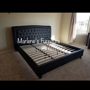 Eastern King Bed Frame Only for Sale in Silverado, CA