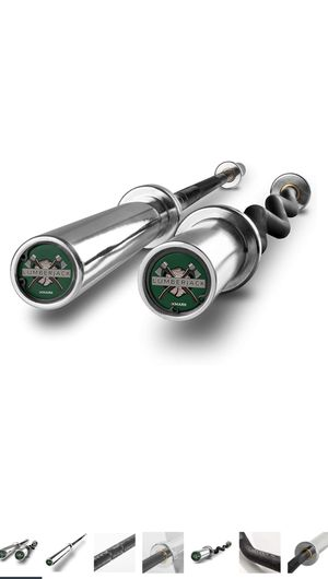 Lumberjack OLYMPIC BARBELL and EZ CURL BAR Set for Sale in Orlando, FL