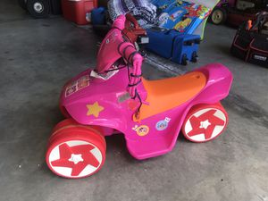 Lalaloopsy 6V ride on toy with charger for Sale in Clermont, FL