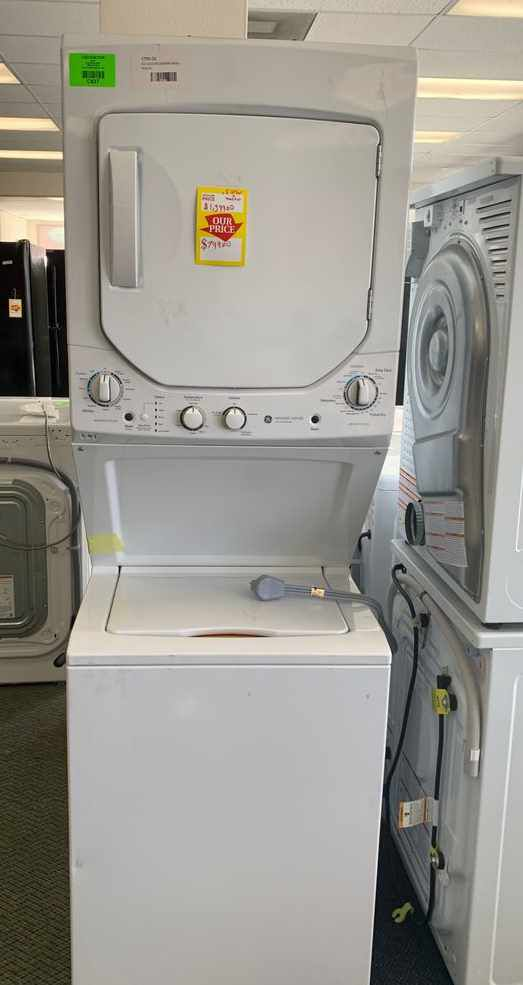 BRAND NEW GE GUD24ESSMWW WASHER AND ELECTRIC DRYER COMBO 2S