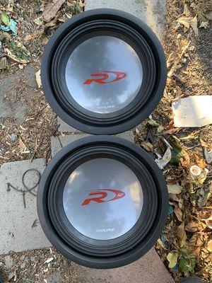 "Alpine subs 12"" for Sale in San Jose, CA"