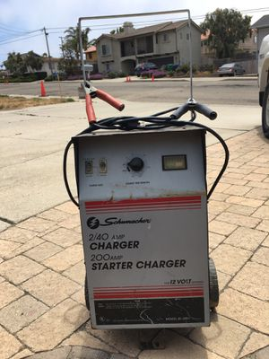 Battery Charger 2/40 amp Charger 200 Starter Charger for Sale in Grover Beach, CA
