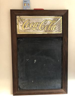 Authentic Coca Cola chalkboard antique for Sale in Hollywood, FL