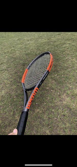 Wilson burn tennis racket 100sCV for Sale in Fairview, OR