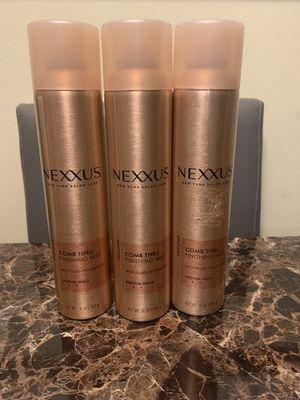 3 Nexxus Comb Thru Finishing Mist 10 oz for Sale in Glendale Heights, IL