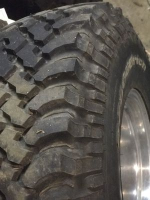 Brand new tires 35x12.50 R 15 LT BFGOODRICH for Sale in Lake Tapps, WA