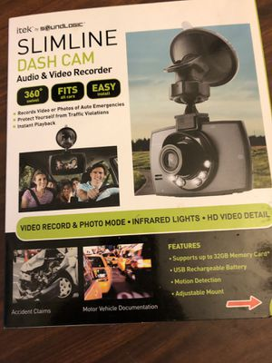 Slimline dash cam for Sale in Rockdale, IL