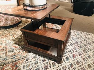 Ashley Furniture Brown Lift Top Coffee Table for Sale in Garden Grove, CA