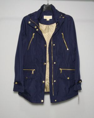 Michael Kors rain coat. Size S women's. Navy blue. Fully lined. Brand new with tags. Retail $220 for Sale in Portsmouth, VA