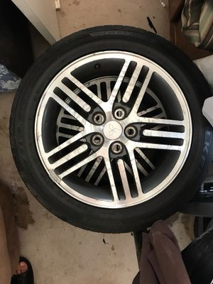 17' rims and new tires for Sale in Apache Junction, AZ