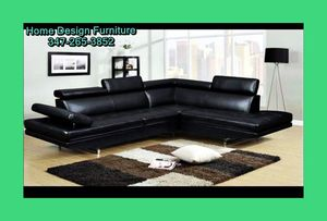 Brand New Modern Leather Sectional for Sale in Queens, NY