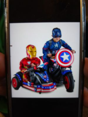 Captain America Power Wheel for Sale in Red Wing, MN