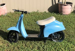 Razor Vespa moped scooter for Sale in Land O Lakes, FL
