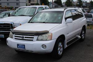 2002 Toyota Highlander for Sale in Everett, WA