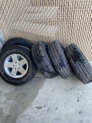 Jeep wheels for Sale in Modesto, CA