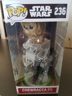 Funko Pop Chewie W/AT-ST Mint for Sale in San Diego, CA
