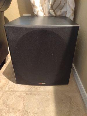 Polk Audio psw505 12inch powered subwoofer for Sale in Phoenix, AZ