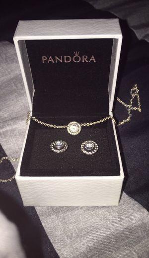 Pandora Necklace & Earring Set for Sale in Atlanta, GA