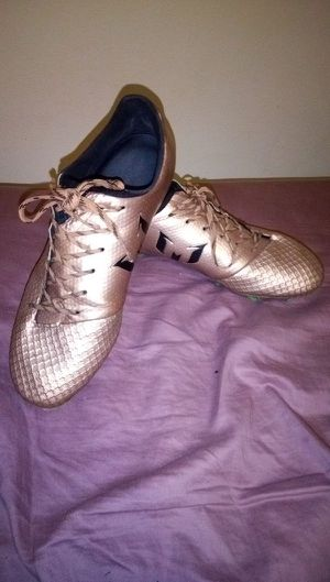 Adidas Gold Soccer Cleats for Sale in Liberty Lake, WA