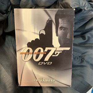 James Bond 007 DVD Collection for Sale in Gardena, CA
