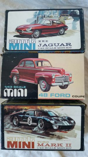 Complete in box 1960's 1/43 scale Model Cars Models for Sale in Portland, OR