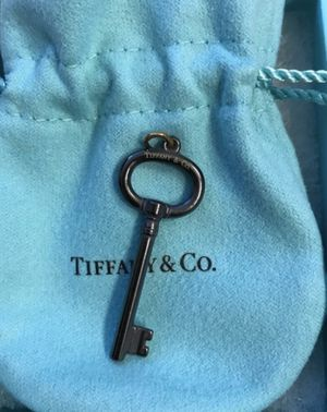 Brand New Tiffany & Co Key Pendant with box and pouch for Sale in Arlington, VA