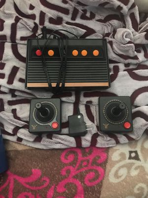 Atari remake complete with two joysticks and games already on the system for Sale in Bethesda, MD