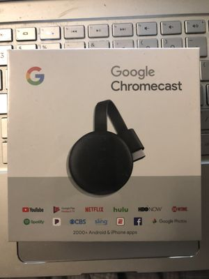 Google chromecast for Sale in Sacramento, CA