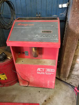 Snap on ac recovery freon for Sale in Cleburne, TX