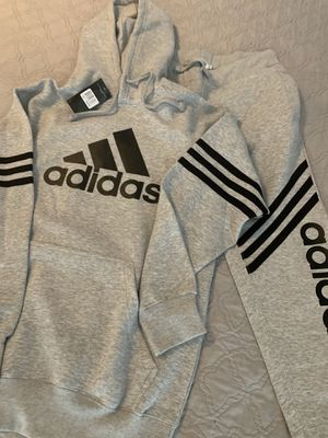 Men's Adidas Sweatshirt/Jogger Set - Size Large for Sale in Zachary, LA