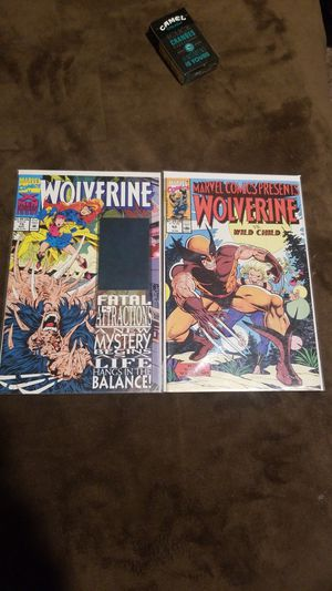 Wolverine 75 hologram cover, wolverine 52 for Sale in Las Vegas, NV