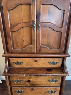 Vintage Children's Wood Armoire for Sale in Poway,  CA