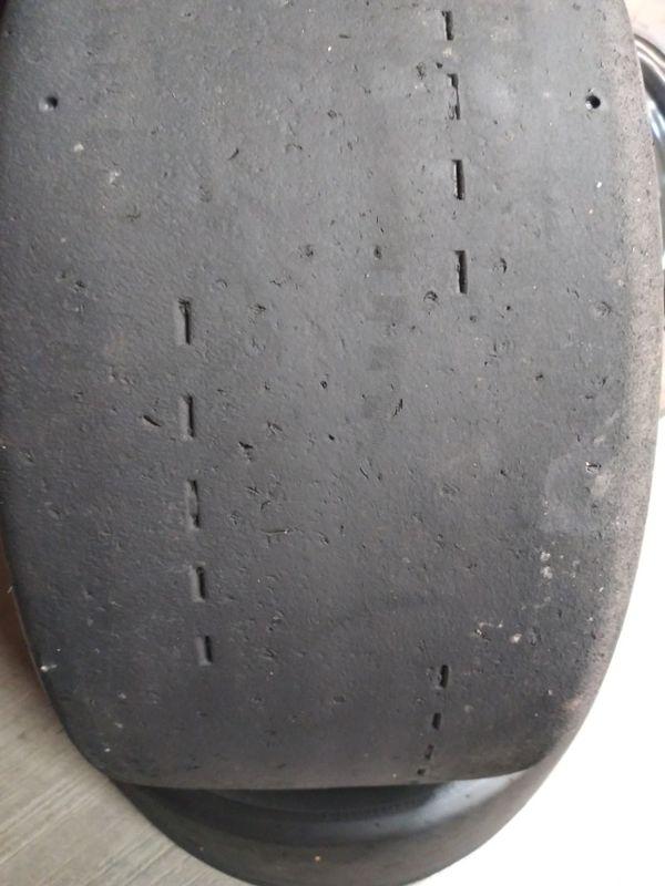 2 hoosier used tires 245/40/15