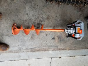 8 inch gas auger for Sale in Myrtle Beach, SC