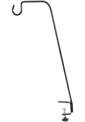 BOLITE 18013 Deck Bird Feeder Hanger, Heavy Duty Extended Reach Deck Hook for Bird Feeders, Planters, Lanterns, Wind Chimes, Holiday Decorations and for Sale in Bakersfield, CA
