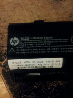 Hp notebook battery for Sale in Tampa, FL