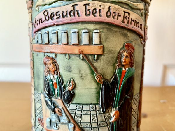 University Harry Potter type German Beer Mug