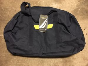 Nautica duffle bag blue and yellow for Sale in Tampa, FL