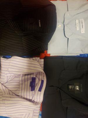 Name brand mens dress shirts!! for Sale in Phoenix, AZ